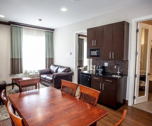 Luxury Suite Living Dining