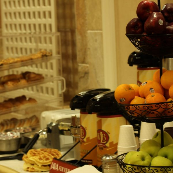 Brooklyn Hotel Partial Breakfast Display