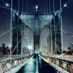 Brooklyn Bridge Walkway Wide